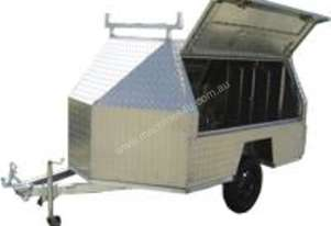 Trailer 3 Door Fully Enclosed