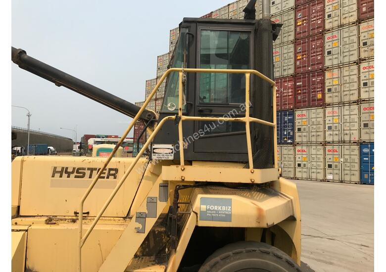 Brilliant Hyster 18.00XM-12EC Container Handling Forklift For Sale!
