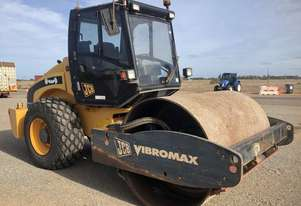 USED JCB VIBROMAX 11.5T SMOOTH DRUM ROLLER WITH 3244HRS