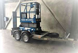 13ft Scissor Lift and Trailer Package