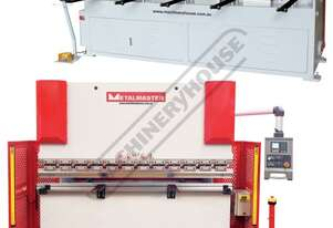PB-63E & HG-840B Hydraulic NC Pressbrake & NC Guillotine Package Deal Pressbrake 70T x 2500mm, Guill