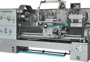 CLF560G/1500 - Centre Lathe - Turning Capacity 560x1500mm - Spindle Bore 105mm - Bed Width 405mm