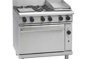 Waldorf 800 Series RNL8613GC - 900mm Gas Range Convection Oven Low Back Version