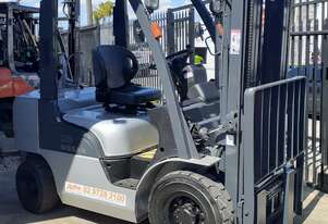 Nissan Forklift 2004 Model 4m Lift Height 2.5 Ton Capacity PL02A25