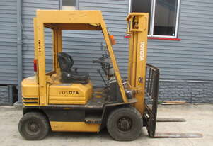 Toyota 2 ton Petrol Cheap Used Forklift #1579