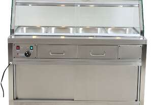 Heated Bain Marie Food Display 1460mm W