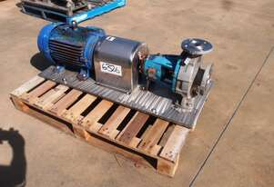 Centrifugal Pump (Stainless Steel), IN: 80mm Dia, OUT: 50mm Dia, 37.5m3/hr