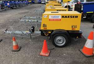 New Kaeser M20 - 70cfm Diesel Air Compressor
