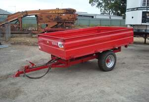 SINGLE AXLE TIPPING TRAILER - 2950MM X 1850MM
