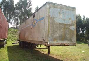 TRI-AXLE TRAILER - EX CHIP TRAILER