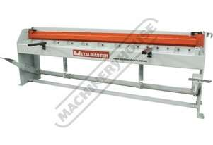SG-812 Manual Treadle Guillotine 2470 x 1.2mm Mild Steel Shearing Capacity