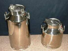 Stainless Steel Milk Cans 20lt and 40lt - picture0' - Click to enlarge