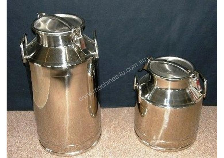 Stainless Steel Milk Cans 20lt and 40lt