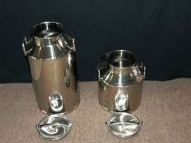 Stainless Steel Milk Cans 20lt and 40lt - picture1' - Click to enlarge