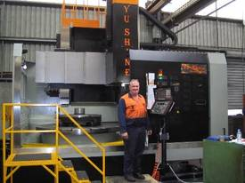 Yu Shine heavy duty CNC Vertical Lathes - picture2' - Click to enlarge