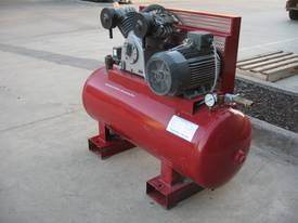 BROADBENT INDUSTRIAL 3 PHASE COMPRESSOR TWIN CYLIN