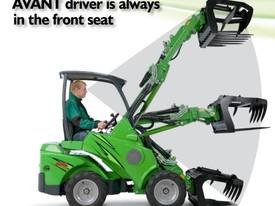Avant mini loader 400 series - picture4' - Click to enlarge