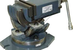 HFV-125W 3 Way Angle Milling Vice 125mm Jaw Width 95mm Jaw Opening