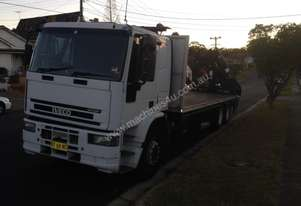 Iveco 12 ton crane truck for sale