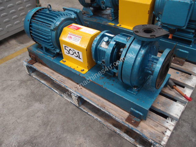 Centrifugal Pump - Inlet 65mm - Outlet 38mm .