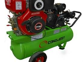12.3cfm Diesel Air Compressor with Electric Start