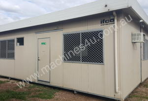 Used 8.4m x 8m Portable Building