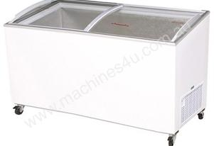 Bromic CF0600ATCG Angled Glass Top 555L Chest Freezer