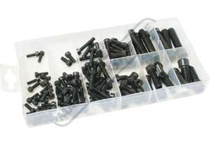 K72024 Metric Hex Cap Screw Assortment 106 Piece