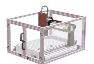 ICARVER SAFETY CAGE SUIT MINI CNC ICARVER 1520 WITH MICRO SWITCH, POWER CUT OFF FEATURE GEETECH