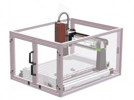 ICARVER SAFETY CAGE SUIT MINI CNC ICARVER 1520 WITH MICRO SWITCH, POWER CUT OFF FEATURE GEETECH - picture0' - Click to enlarge