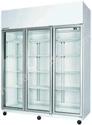 Three Door Display Fridge