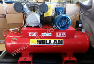 McMillan 24CFM Cast Iron Industrial Compressor