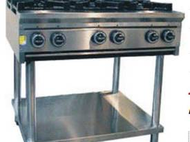10 Burner Cook Top + stand and shelf