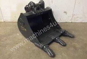 UNUSED 450MM AGGRESSIVE TOOTHED BUCKET SUIT 1-2T EXCAVATOR D714