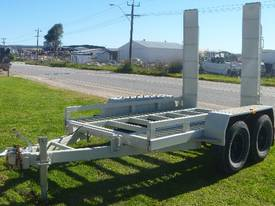 EVO 2012 3.6TON PLANT TRAILER WITH RAMPS - picture0' - Click to enlarge