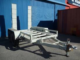 EVO 2012 3.6TON PLANT TRAILER WITH RAMPS - picture1' - Click to enlarge