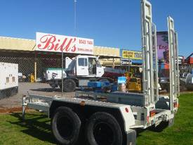 EVO 2012 3.6TON PLANT TRAILER WITH RAMPS - picture2' - Click to enlarge