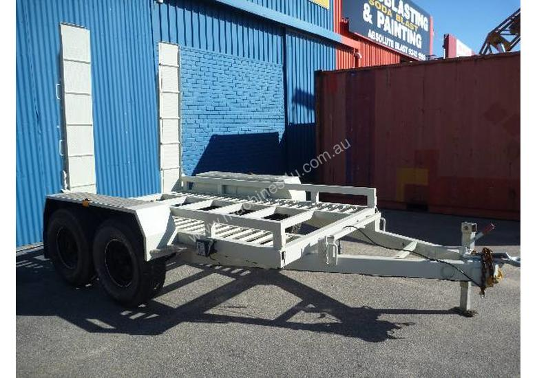 EVO 2012 3.6TON PLANT TRAILER WITH RAMPS