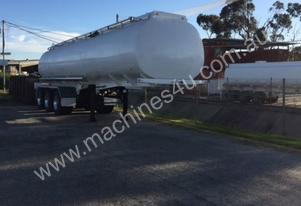 29000lt stainless steel 316 tank trailer