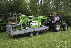 Nifty SD170 4X4 17.1m Self Drive - combines the best of self-propelled and trailer mounted