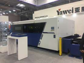 Yawei HLF-1530 Fibre Laser. 6kW IPG, Siemens 840D. IN STOCK - picture7' - Click to enlarge