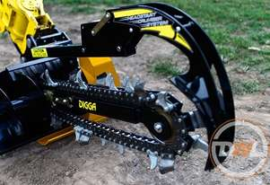 DIGGA TRENCHERS ALL MAKES ALL MODELS SUIT SUIT EXCAVATOR BOBCAT TRACTOR TELEHANDLER Trencher Attachm