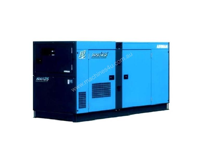 Airman SDG125S-3A6 100kVA Prime Power Diesel Generator with 250L Tank