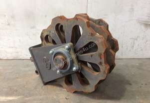 COMPACTION WHEEL 250MM WIDTH SUIT 2-4T EXCAVATOR D857
