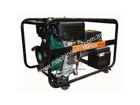 Gentech 3 Phase 6.8kVA Diesel Generator with Elec Start, Lister Petter Engine - picture7' - Click to enlarge