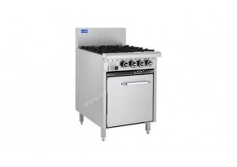 Luus Essentials Series 600 Wide Oven Ranges 2 burners, 300 bbq & oven