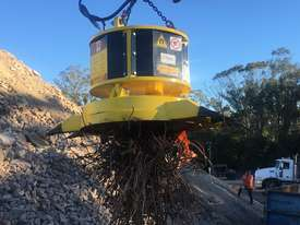 Hydraulic Powered Magnet (Suitable for 14T+ Carriers) - picture6' - Click to enlarge