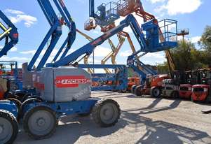 2008 Genie Z-45/25J RT Articulating Boom Lift