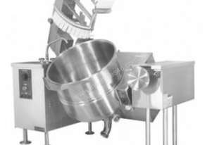 Cleveland MKEL80T Gas Floor Mounted Tilting Kettles
