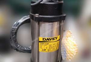 DAVEY D150GA GRINDER PUMP AUTOMATIC FLOAT 240V 1.5kw submersible pump